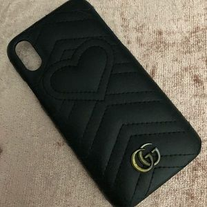 Gucci Marmont iPhone X Case